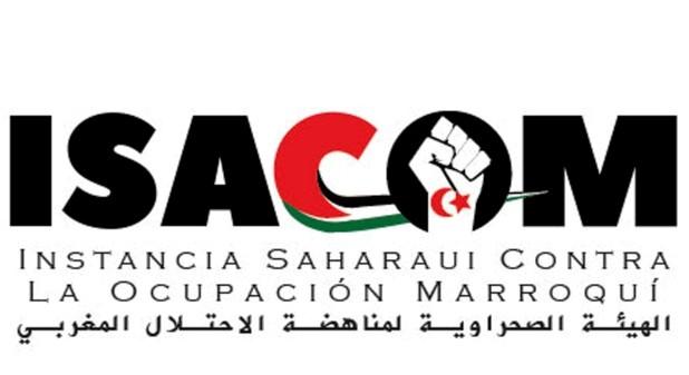 logo de ISACOM instancia saharaui contra la ocupación marroquí