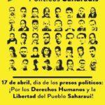 cartel presos políticos saharauis